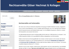 Screenshot Mainzer-Anwalt.de