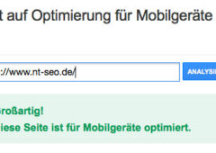 Google Test für mobile Endgeräte