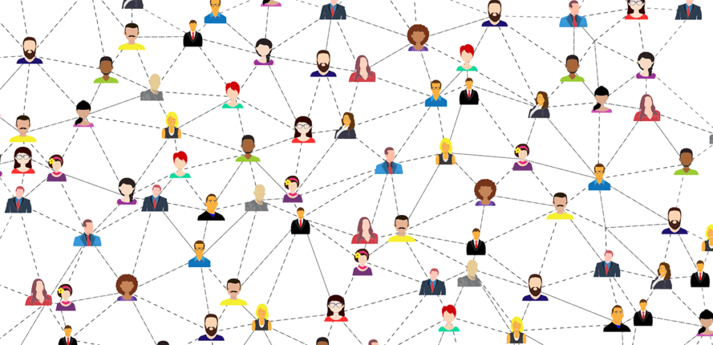 Eine eigene Community kann man zum Beispiel über Social Media Gruppen oder ein Forum zu einem Nischenthema erstellen (Grafik: Pixabay).